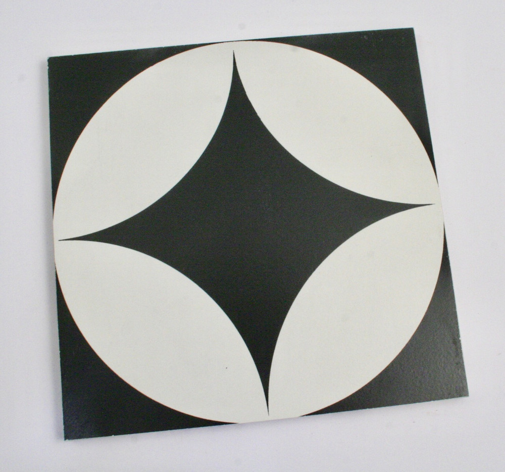 Sample of Large Round Keys Wall and Floor Tile 200mm