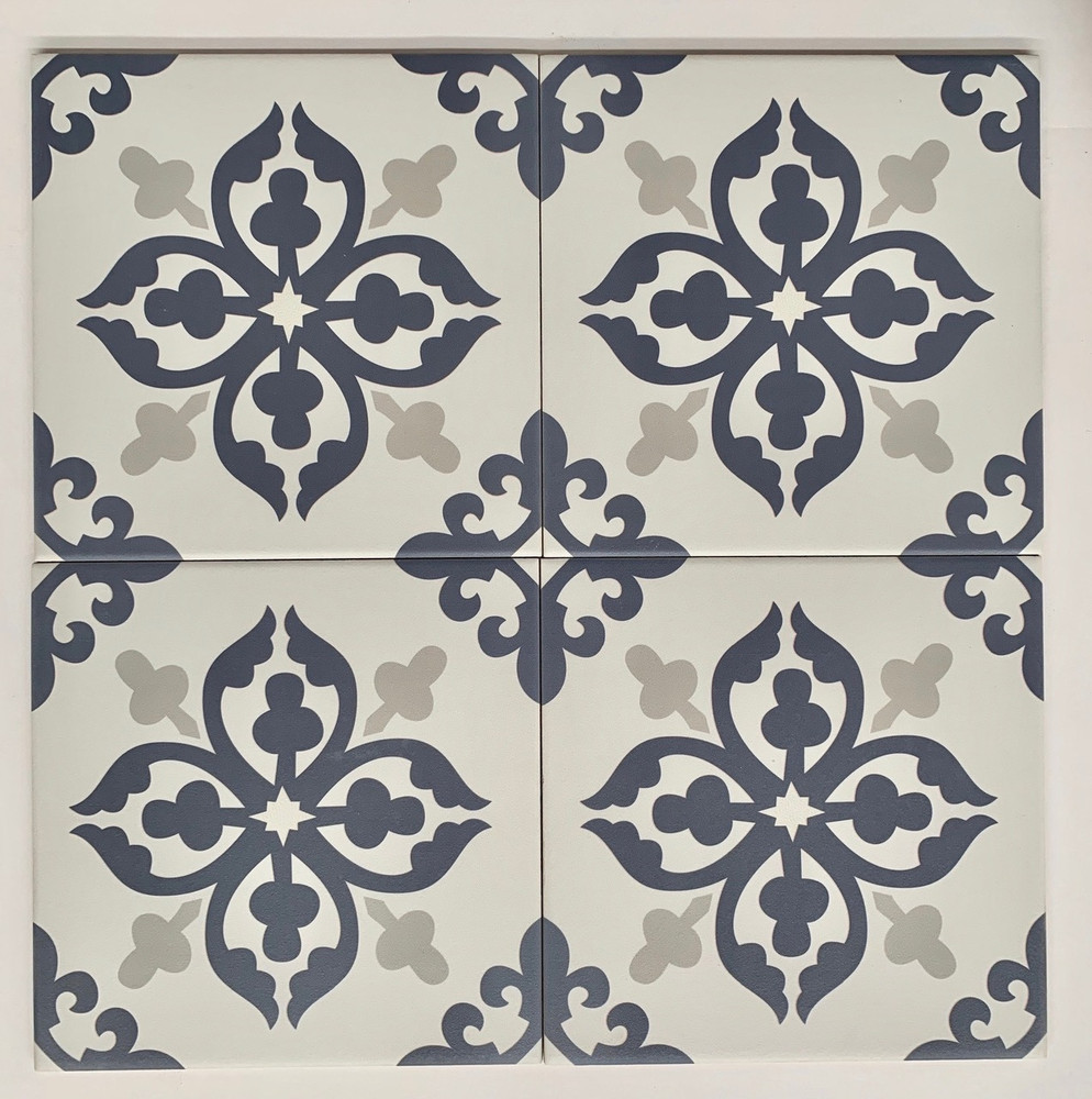 Sample of Algiers Blue Wall and Floor Tile