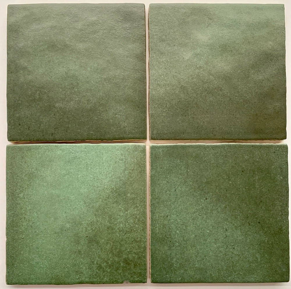 Madrid Evergreen Handmade Style Square Wall Tile 132x132mm