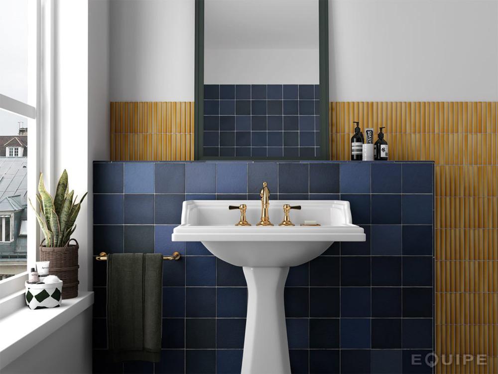 Madrid Atlantic Blue Handmade Style Square Wall Tile
