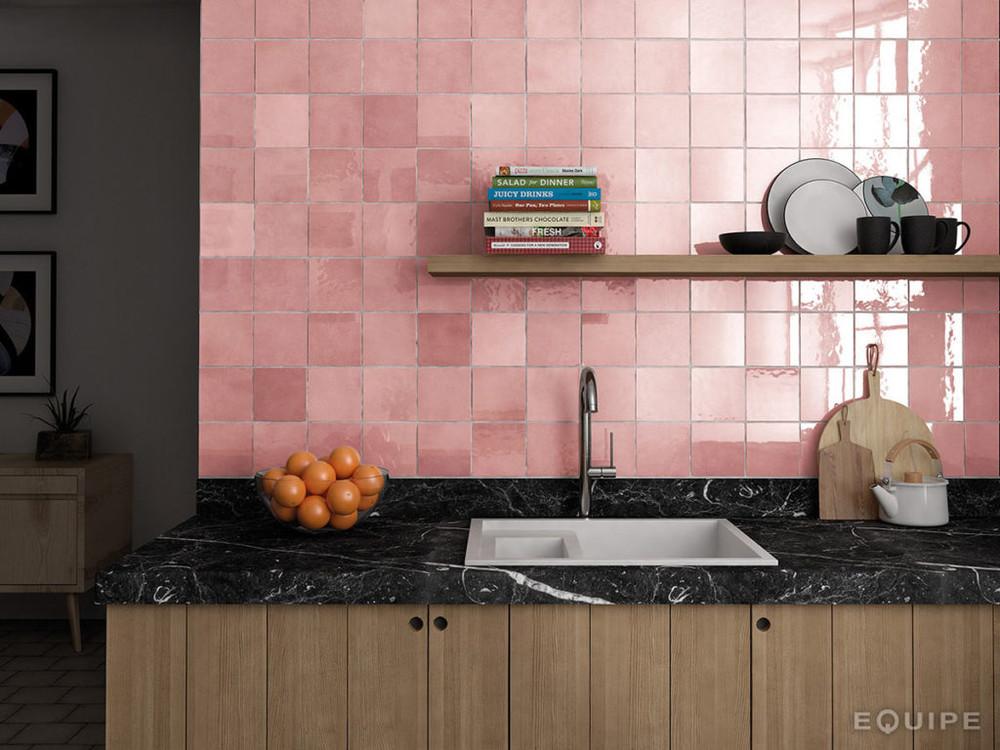 Onda Rose Handmade Style Tile 132x132mm