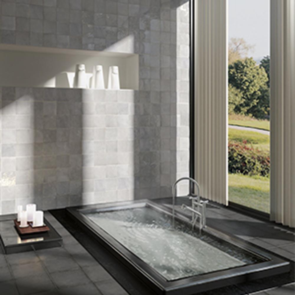 Ash Handmade Style Gloss Wall Tile 132x132mm