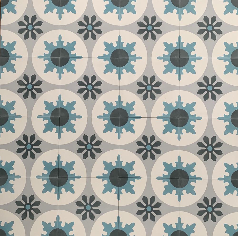 Seville Encasutic Cement Tile  - 16 tiles