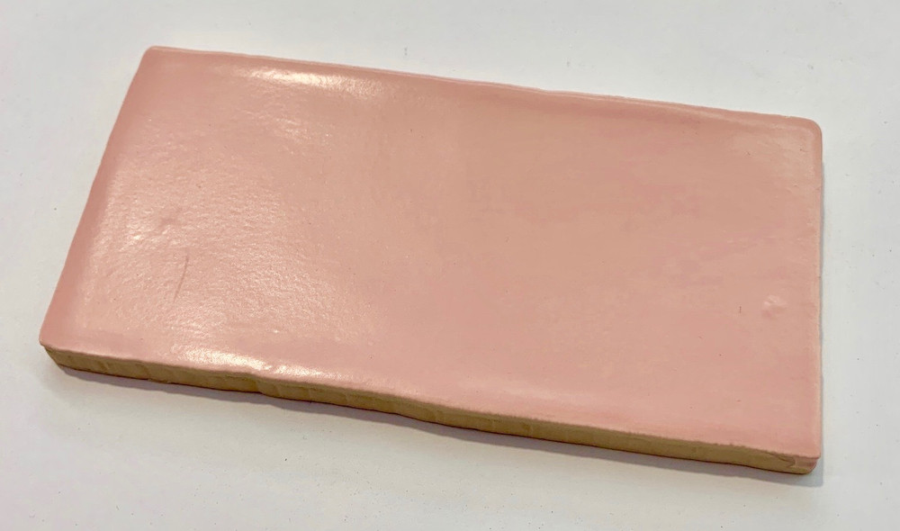 Rosa Pink Matt 150x75mm Wall Tile