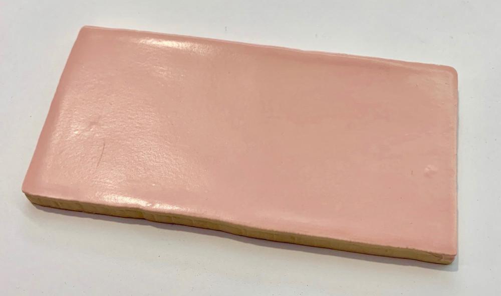 Rosa Pink Matt 150x75mm Wall Tile