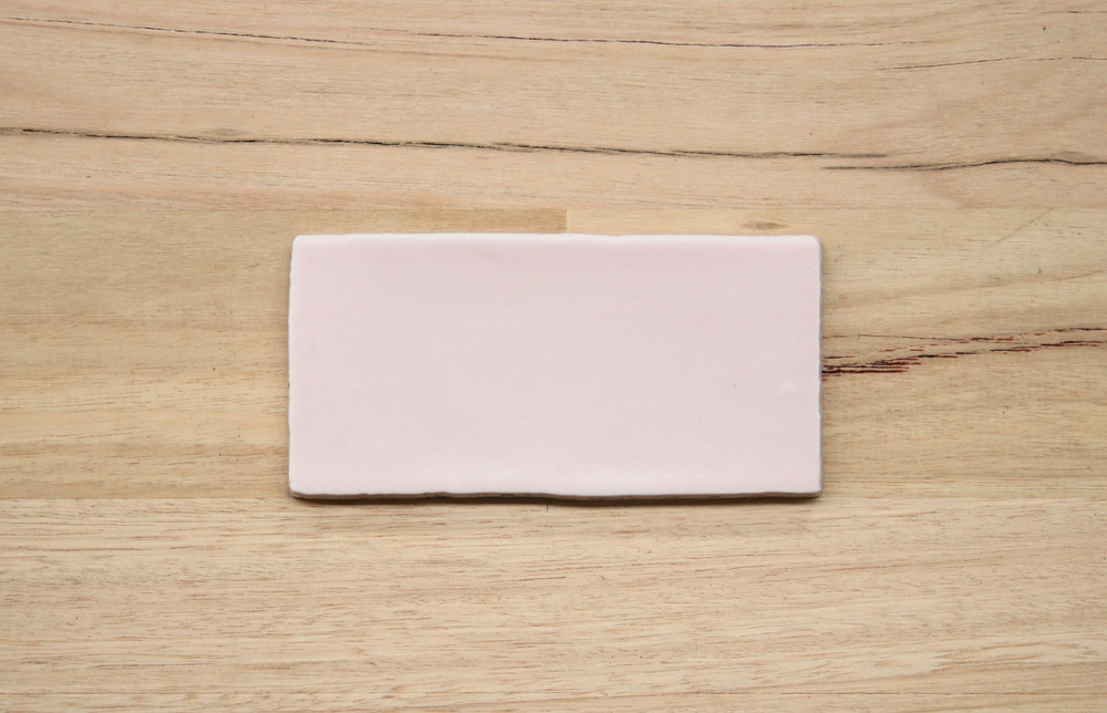 Soft Pink Matt Wall Tile