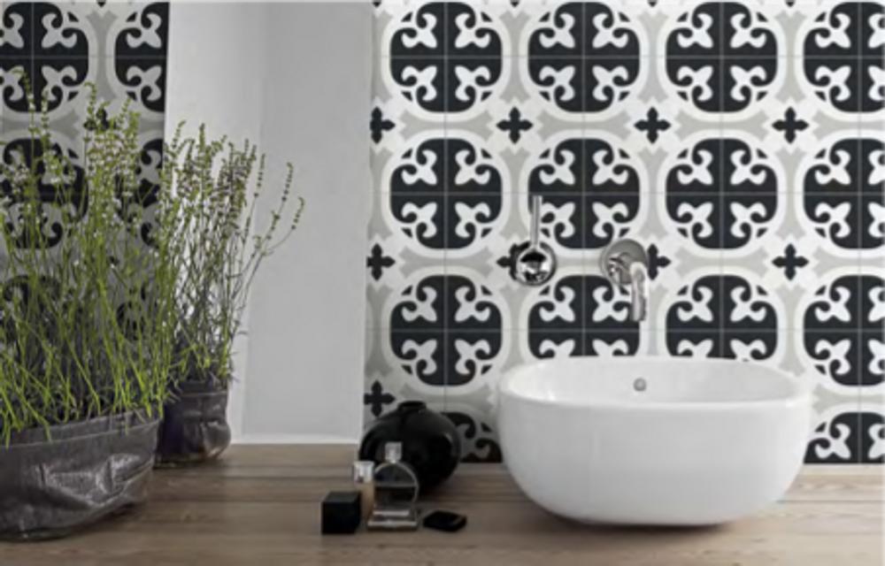 Fleur Wall and Floor Tile 205mm