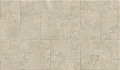 Ivory Travertine Look French Pattern Outdoor  Tile