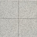 White Terrazzo Look Plain Tile 205mm