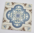 Aegean Blue Lantern Wall and Floor Tile 200mm