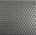 Dark Grey Matt Penny Round 19mm