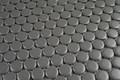 Grey Matt Penny Round Mosaic 19mm