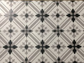 Sample of Classic Grey Keys Wall and Floor tile 200mm