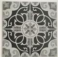 Sample of Colima Grey Matt Floor Tile 200mm