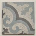 Sample of Agadir Blue Swirl Wall and Floor Tile