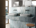 Azure 200x65mm Handmade Style Wall Tile
