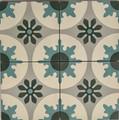 Seville Encaustic Cement Tile - 4 tiles