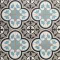 Ottoman Encaustic Cement Tile - 16 tiles