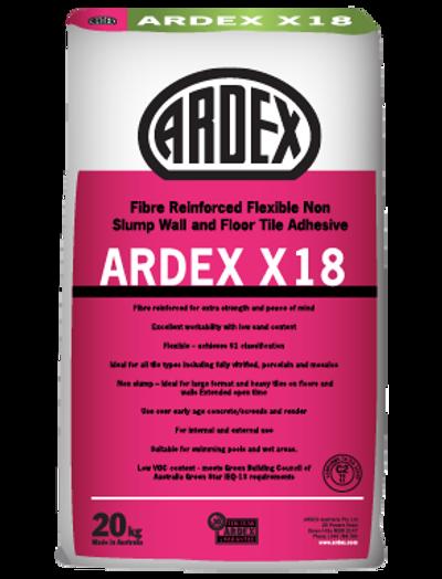 Ardex X18 White Tile Adhesive