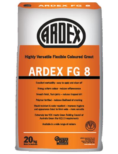 Ardex FG8 Grout