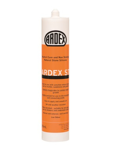 ARDEX ST NEUTRAL CURE SILICONE MISTY GREY