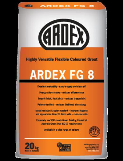 ARDEX FG 8 CHARRED ASH 287 GROUT 5KG