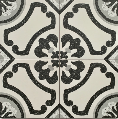 Sample of Colonial Porcelain Wall and Floor Tile 205mm