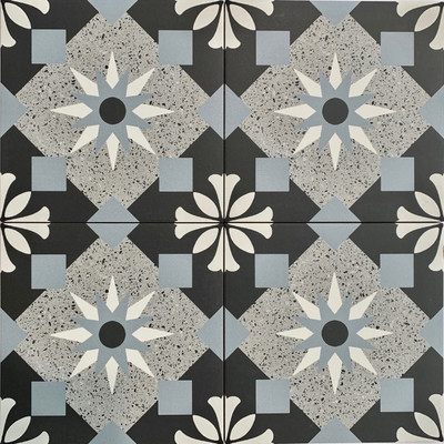 Sample of Girona Terrazzo Look Tile 205mm