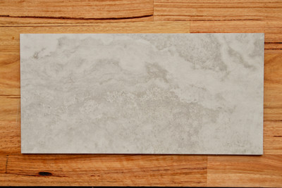 Silver Travertine Porcelain Tile