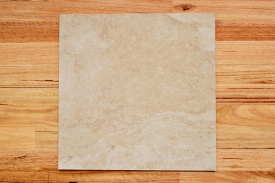 Travertine Beige Porcelain Exterior Tile