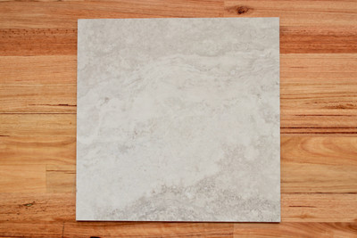Silver Travertine Porcelain External Tile