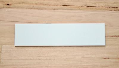 $00x100mm Matt White Wall Tile