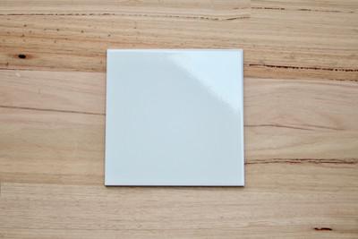 200x200mm White Gloss Wall Tile