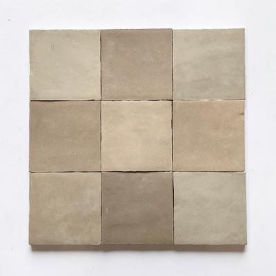 Zellige Mink Gloss Wall Tile  10x10cm  - sold per box