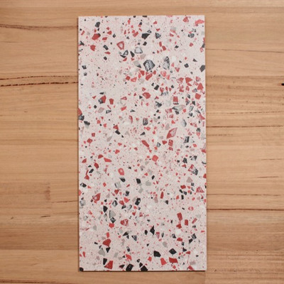 Terrazzo Coral Rose Porcelain 600x300mm