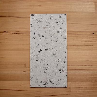 Terrazzo Silver Porcelain Tile 600x300mm