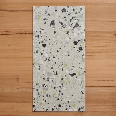 Terrazzo Green Porcelain Tile 600x300mm