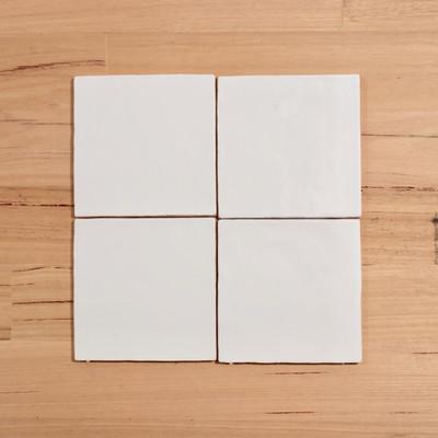 Barcelona Matt White 15cmx15cm