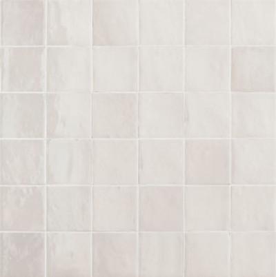 Zellige Ice White Gloss 10x10cm