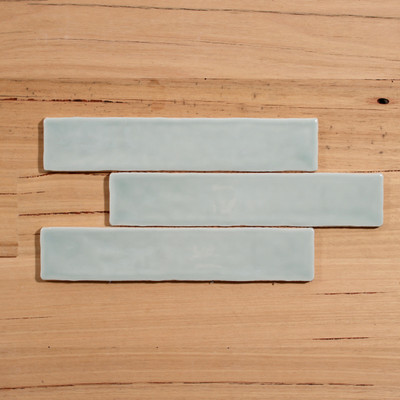 Barcelona Menta Gloss Subway Wall Tile 250x50mm