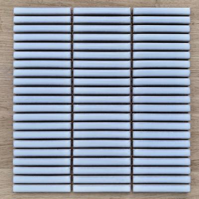 Small Kit Kat Vintage Gloss White Mosaic 92x12mm