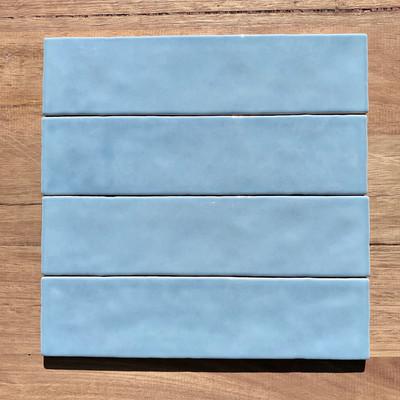 Casablanca Baby Blue Subway Tile 242x58mm