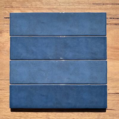Casablanca Navy Blue Subway Tile 242x58mm