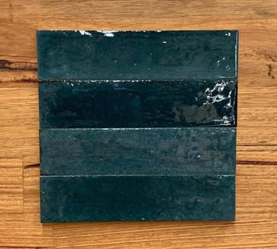 Lume Blue Wall Tile 240x60x9mm - sold per 0.52m box