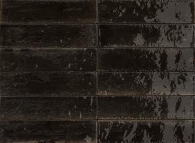 Lume Black Wall Tile