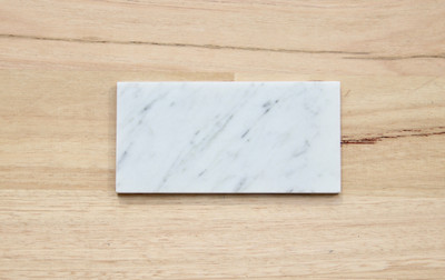 Cararra Marble Subway Tile 150x75mm