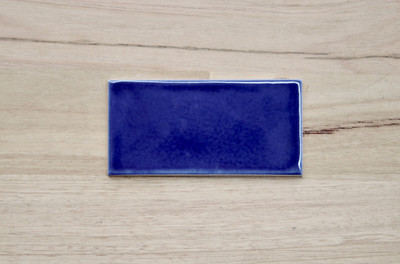 Dark Blue Craquelle Tile