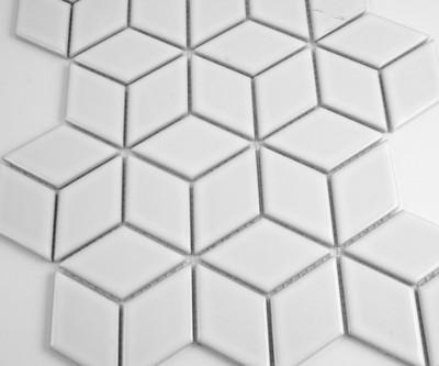 white cube mosaic