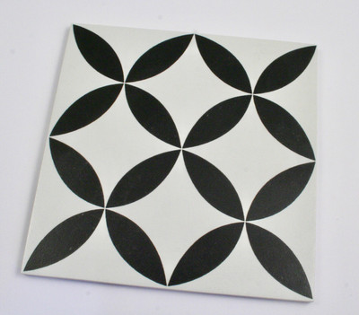 Round Keys Small Wall and Floor Tile 200mm