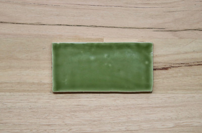 Barcelona Olive Gloss Subway Tile